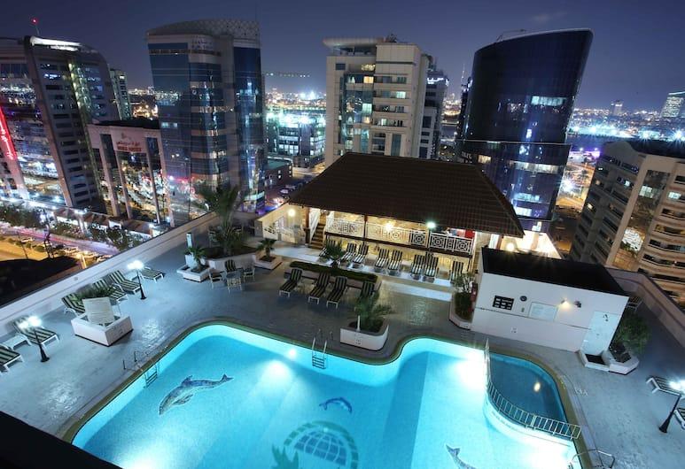 Carlton Palace Hotel, Dubai, Outdoor Pool