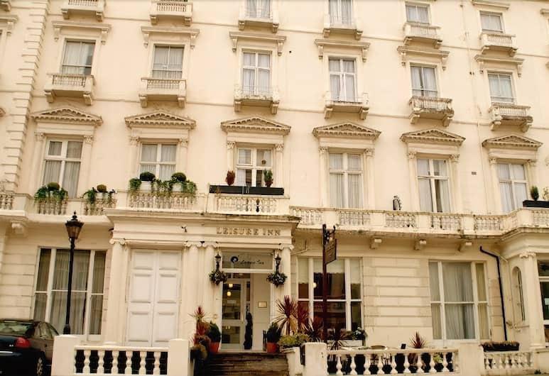 Leisure Inn Hotel, London, Hotellets front