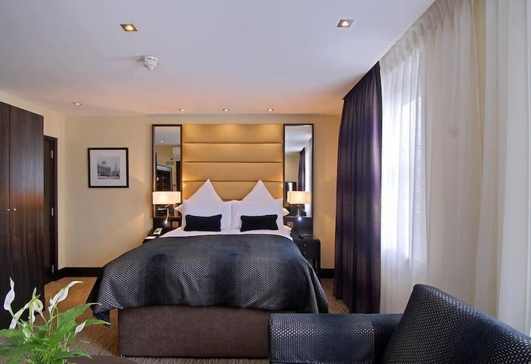 The Marble Arch Suites, London, Deluxe dobbeltrom, Gjesterom