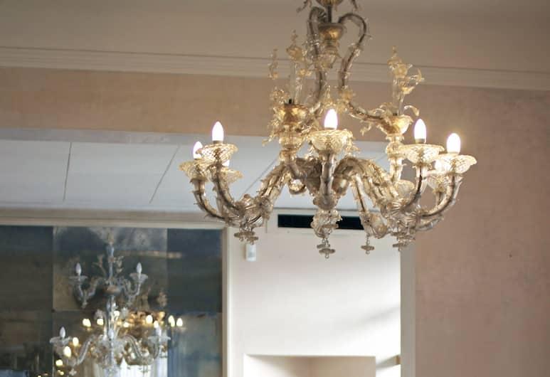 c-hotels De Rose Palace, Florence, Tempat Duduk di Lobi