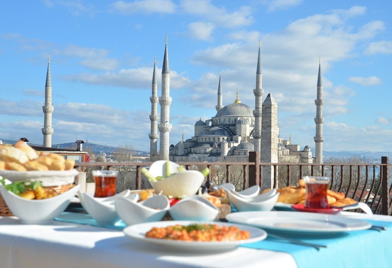 Hotel Fehmi Bey - Special Class, Istanbul, Terrace/Patio