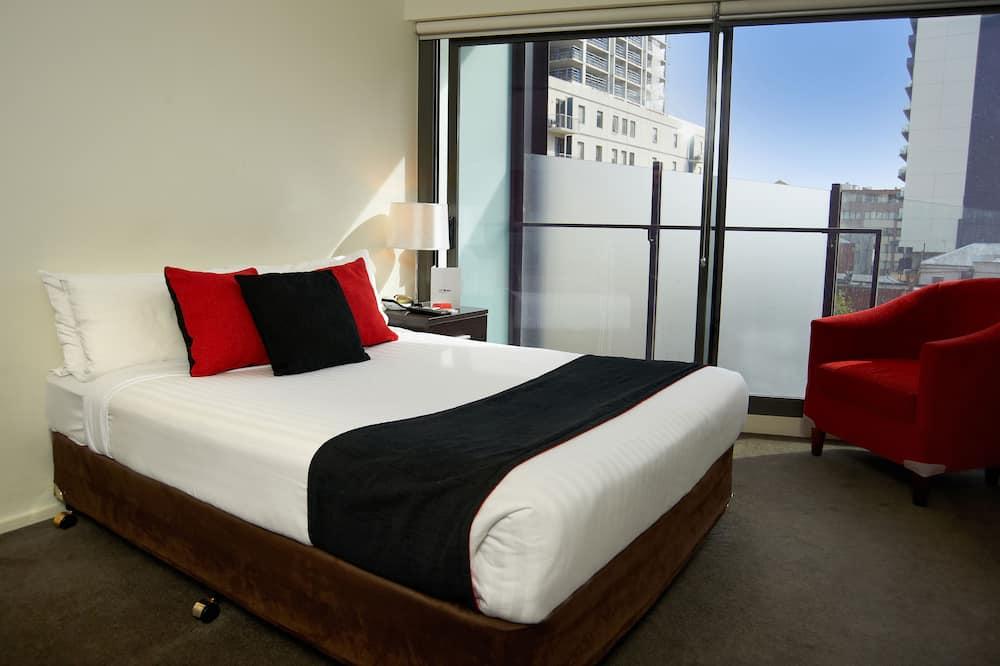 開放式客房, 陽台 - 城市景觀