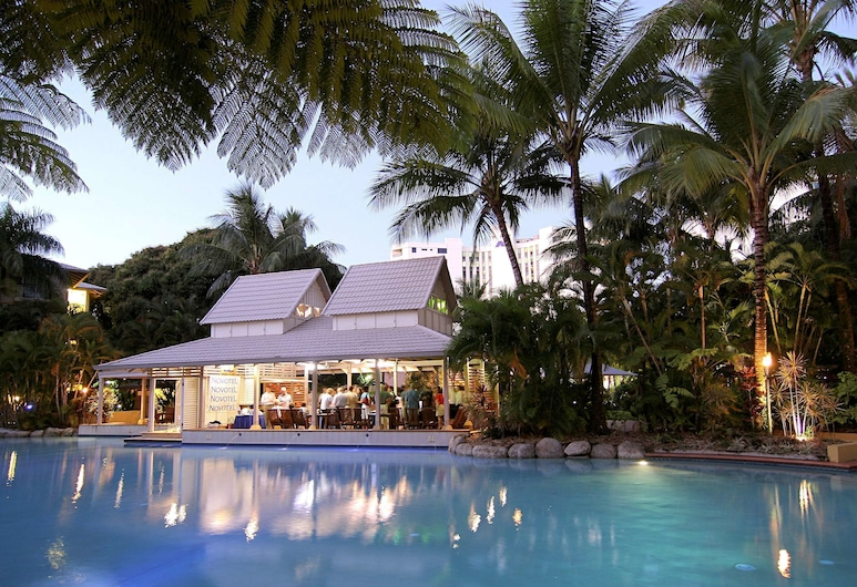 Novotel Cairns Oasis Resort, Cairns, Bar do Hotel