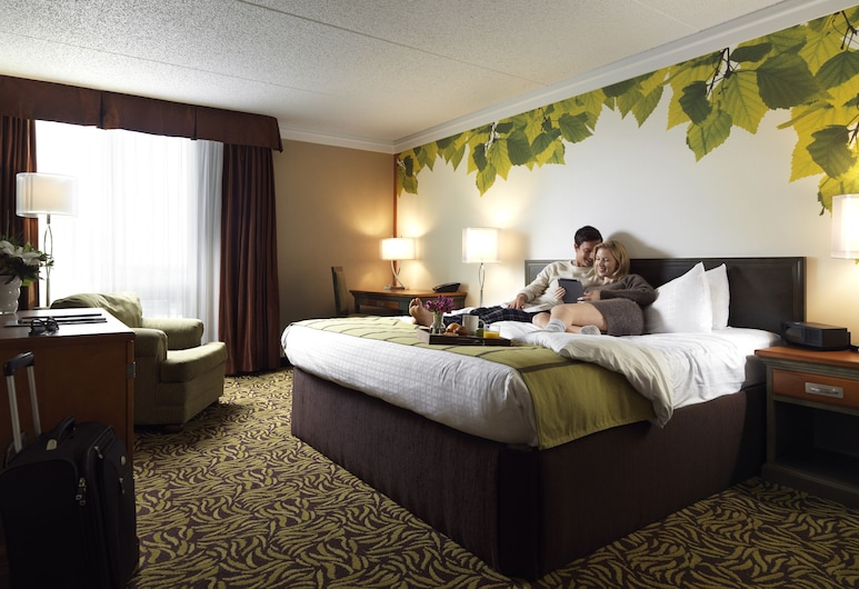 Varscona Hotel on Whyte, เอ็ดมันตัน, Linden Room, 1 King Bed, ห้องพัก