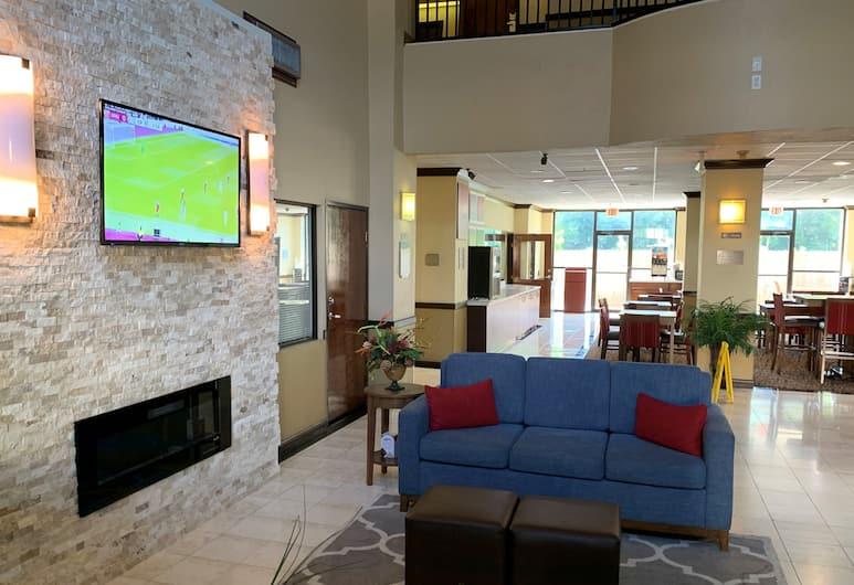 Comfort Suites Bush Intercontinental Airport, Houston, Poilsio zona vestibiulyje