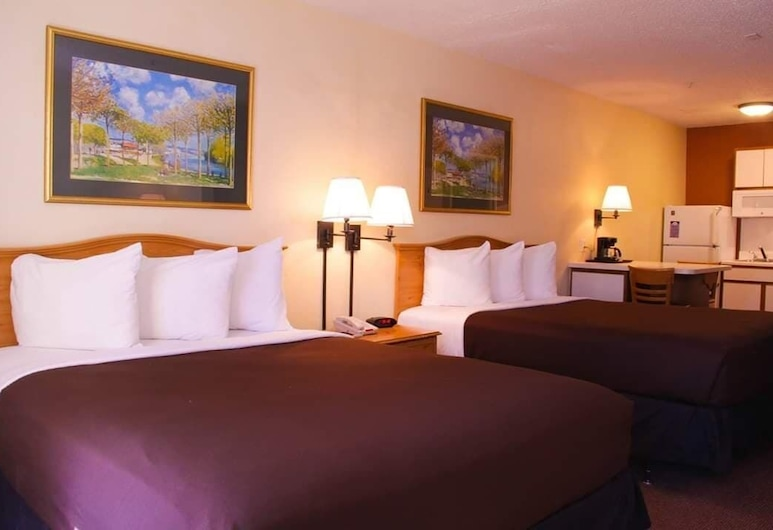 Suburban Extended Stay, Albuquerque, Standard Room, 2 Queen Beds, Non Smoking, Guest Room