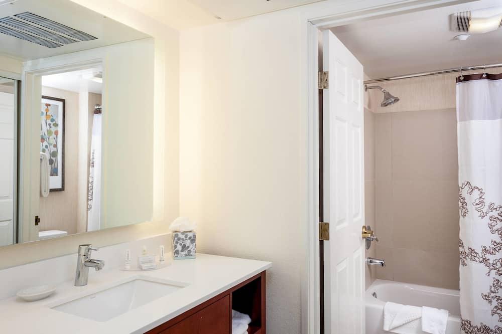 Estudio, 1 cama de matrimonio grande, no fumadores - Cuarto de baño