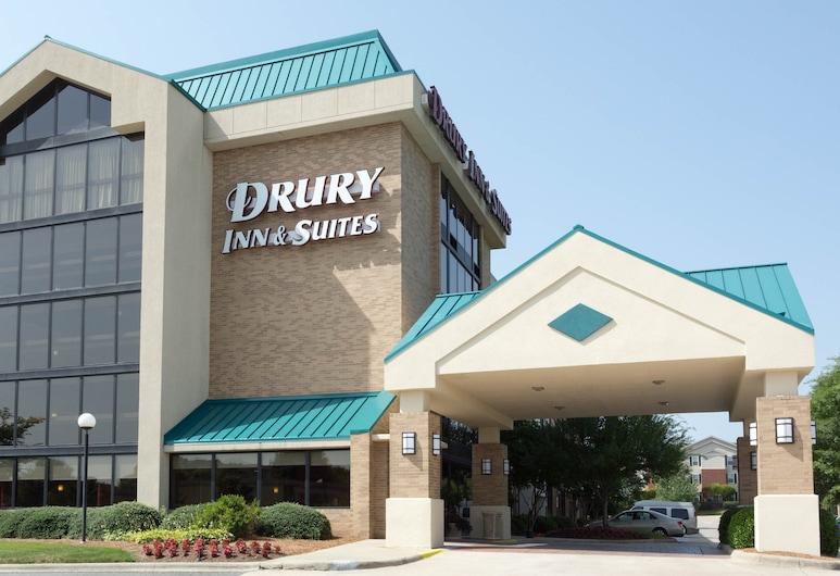 Drury Inn & Suites Charlotte University Place, Šarlotė, Viešbučio fasadas