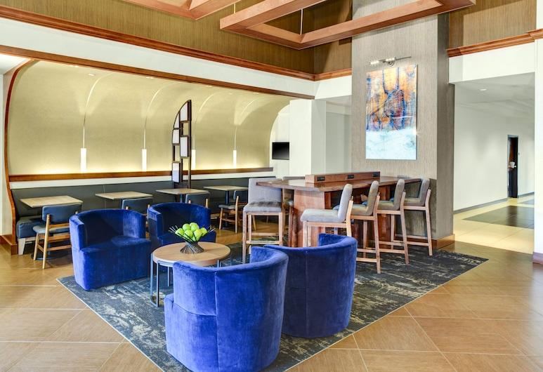 Hyatt Place Secaucus/Meadowlands, Secaucus, Zona con asientos del vestíbulo