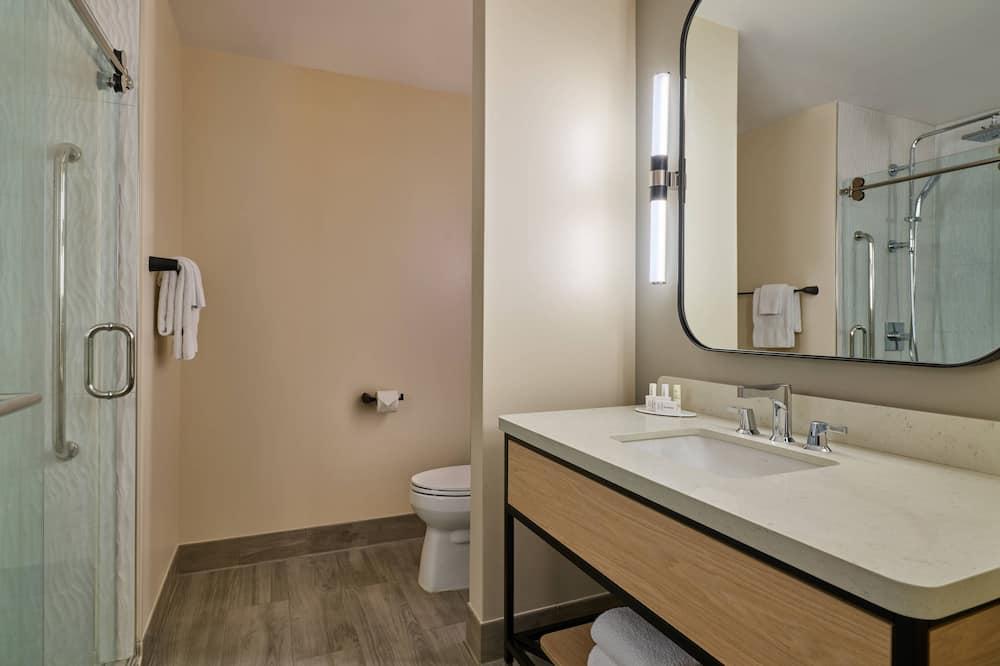 豪華客房, 1 張特大雙人床, 非吸煙房, 城市景 - 浴室