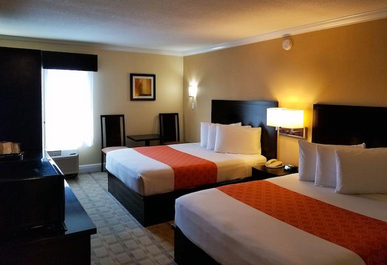Galleria Palms Hotel, Kissimmee, Queen Room 2 Queen Beds, Habitación