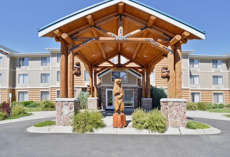 ClubHouse Inn West Yellowstone, West Yellowstone, Pročelje hotela