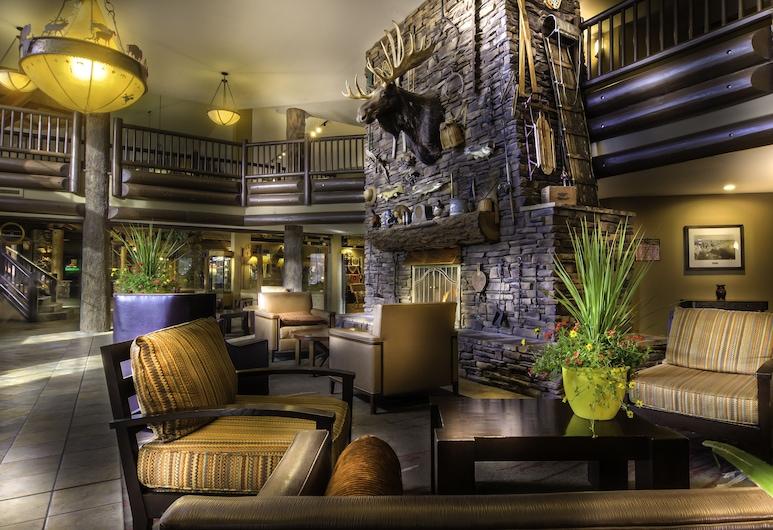 The Grand Hotel at the Grand Canyon, Gran Cañón, Sala de estar en el lobby