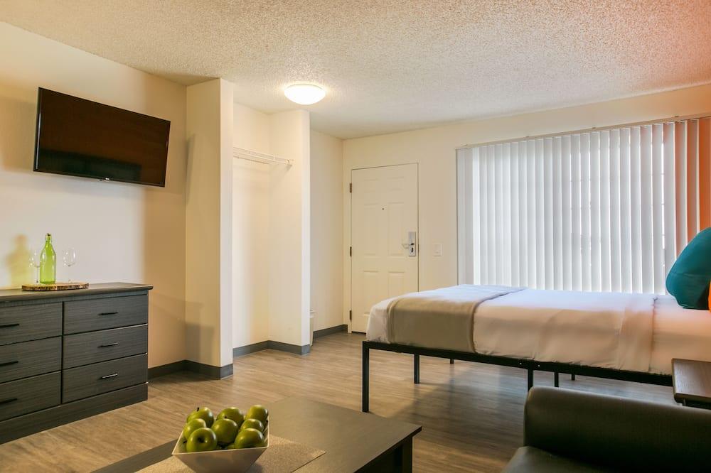Studija, 1 didelė dvigulė lova - Svečių kambarys