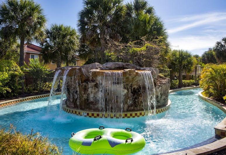 Fantasy World Resort, Kissimmee, Pool Waterfall