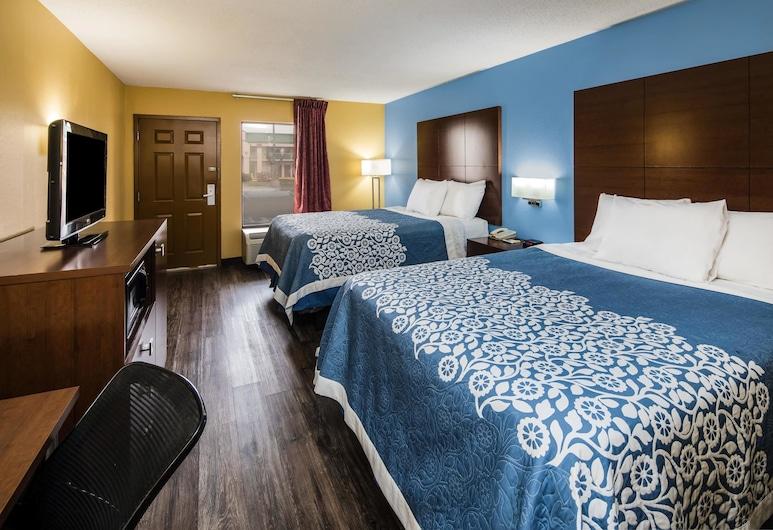 奧克格羅夫坎貝爾堡溫德姆戴斯飯店, 橡樹欉, 客房, 2 張加大雙人床, 非吸煙房, 客房