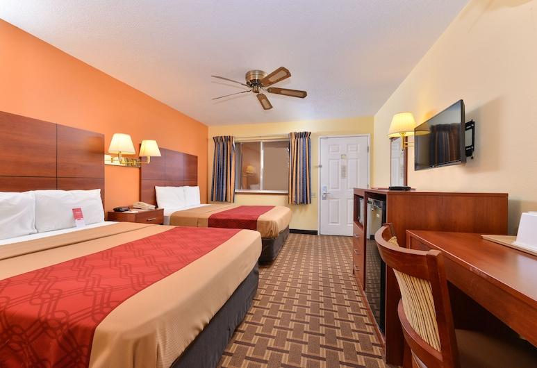 Econo Lodge Midtown, Albuquerque, Standard Room, 2 Queen Beds, Non Smoking, Guest Room