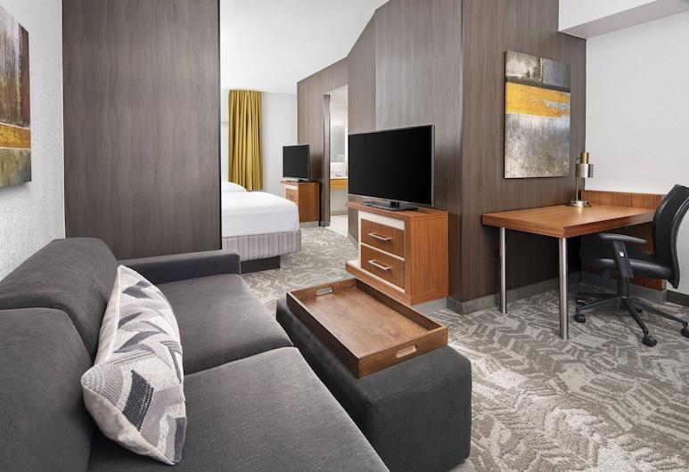 SpringHill Suites Scottsdale North, Scottsdale, Estúdio, 2 camas de casal, para não fumantes, Vista para a montanha, Quarto