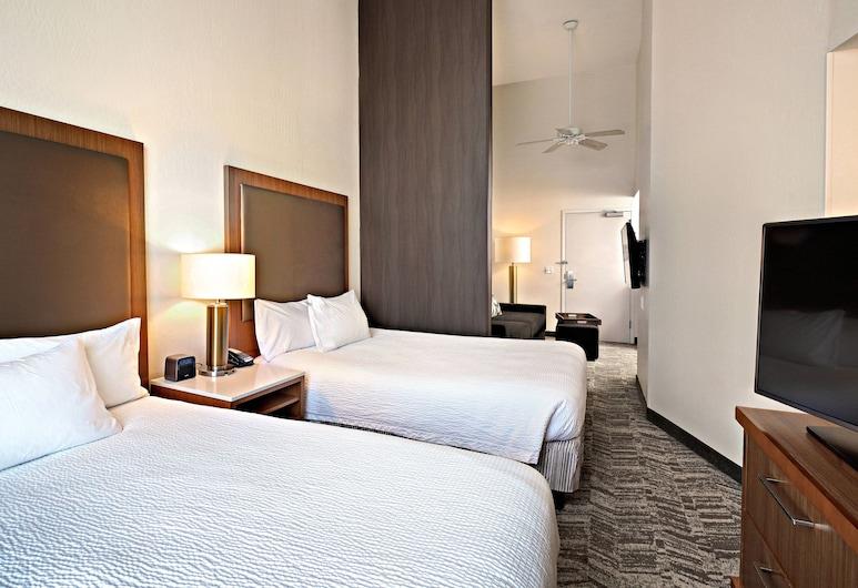 Springhill Suites By Marriott Phoenix Glendale Peoria, Glendale, Lakosztály, 2 queen (nagyméretű) franciaágy, Vendégszoba