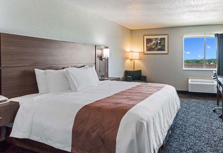 Quality Inn & Suites, Ferdinand, Standard Room, 1 King Bed, Non Smoking, Guest Room