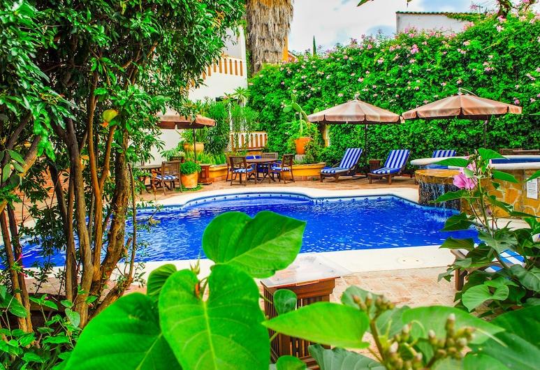 Hotel Hacienda Los Laureles - Spa, Oaxaca, Välibassein