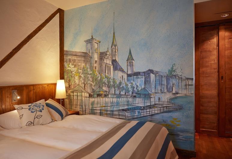 Hotel Adler Zürich, Zúrich, Habitación estándar doble, 1 habitación, Habitación