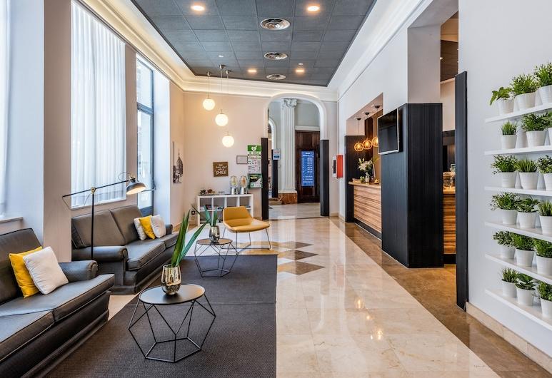 TRYP Madrid Atocha Hotel, Madryt, Poczekalnia w holu