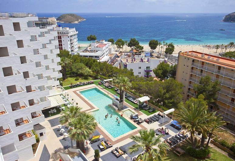 Vistasol Apartments, Calvia, Premium appartement, 2 slaapkamers, terras, Uitzicht op zee, Uitzicht vanaf kamer