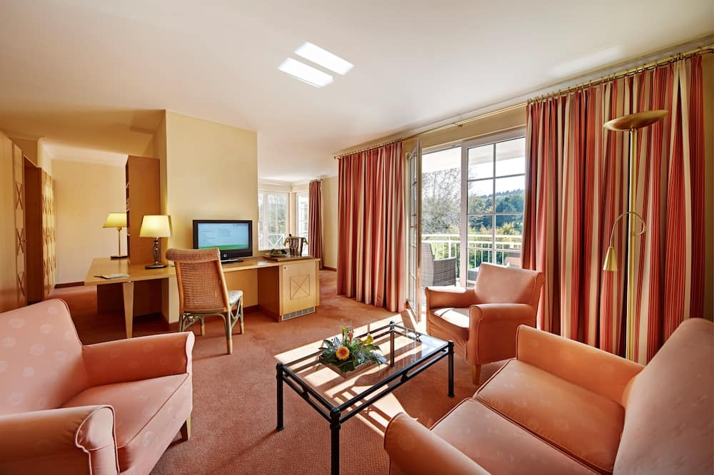 First Class Room - Living Area