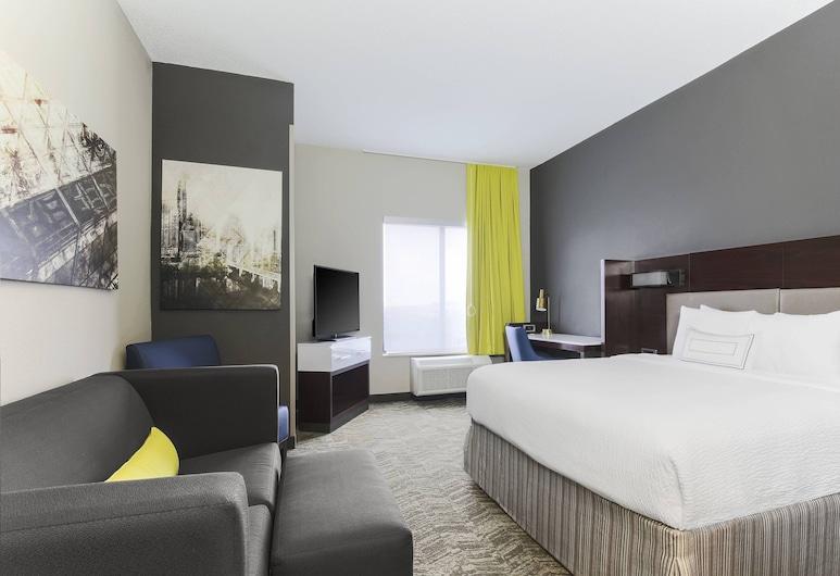 SpringHill Suites by Marriott Austin Parmer/Tech Ridge, Austin, Stúdió lakosztály, 1 king (extra méretű) franciaágy, nemdohányzó, Vendégszoba