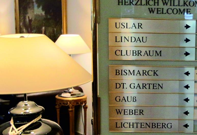 Eden Hotel, Gotinga, Sala de reuniones