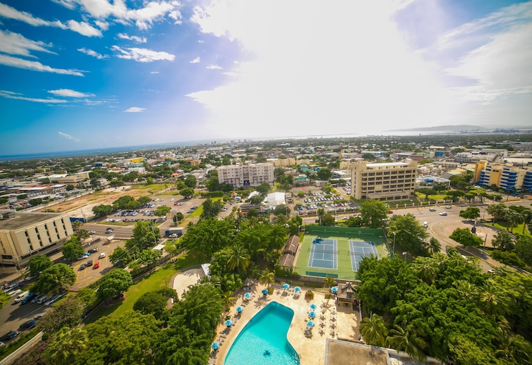 The Jamaica Pegasus Hotel, Kingston, City view from property
