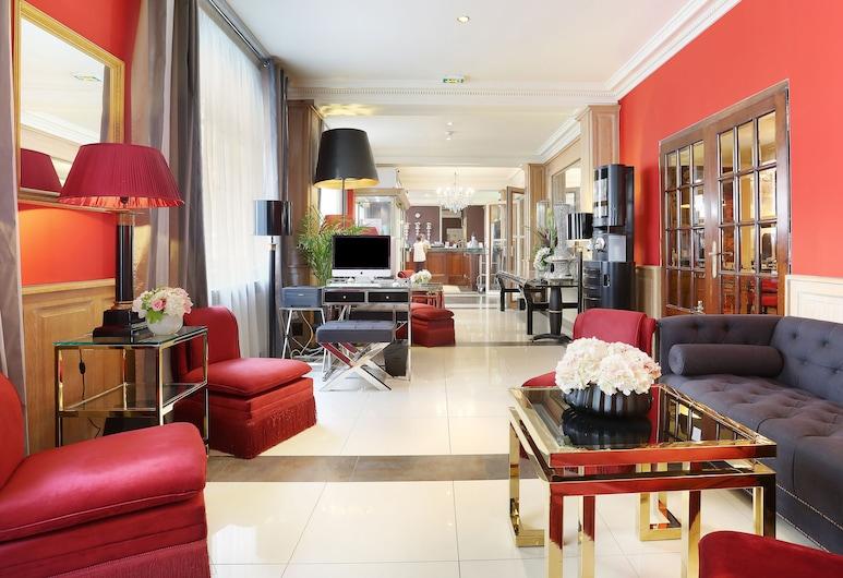 Hotel Trianon Rive Gauche, Paris, Lobby Lounge