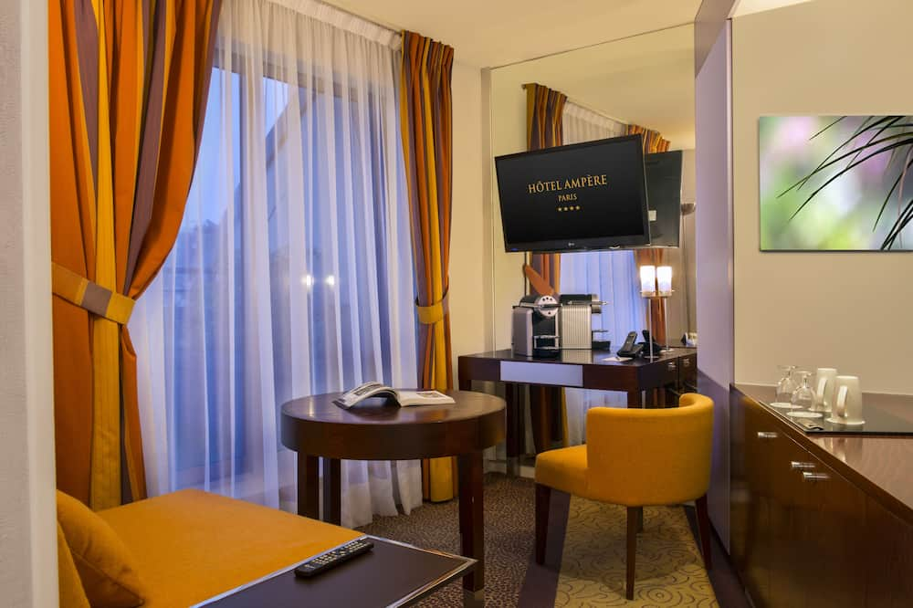 Suite – panoramic, terrasse (Eiffel Tower view) - Stue