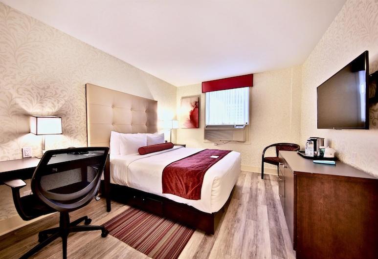 Best Western Plus Montreal Downtown-Hotel Europa, Montreal, Standardrum - 1 queensize-säng - icke-rökare (Small Room), Gästrum