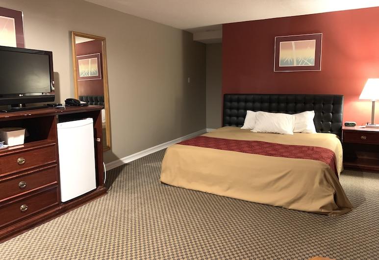 Econo Lodge London, London, Phòng Tiêu chuẩn, 1 giường cỡ king, Không hút thuốc, Quang cảnh phòng