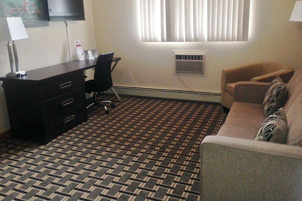 Лофт - Зона гостиной