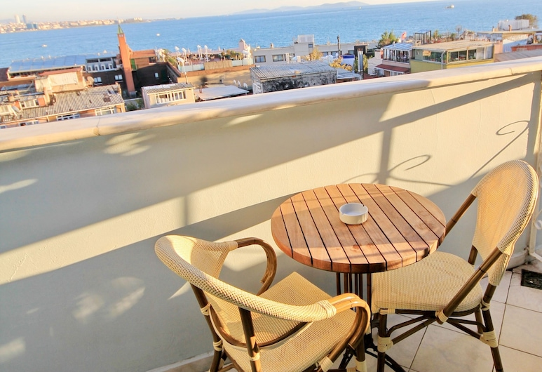 Historia Hotel - Special Class, Istanbul, Rom – standard, utsikt mot sjø (Non Smoking), Balkong