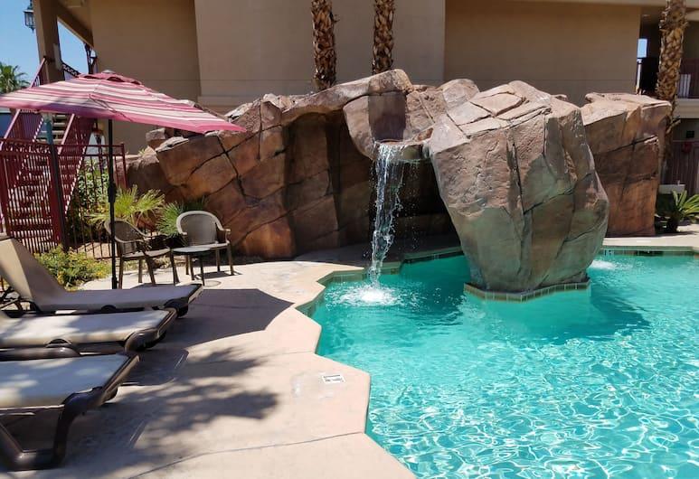 Red Roof Inn Las Vegas, Las Vegas, Pool Waterfall