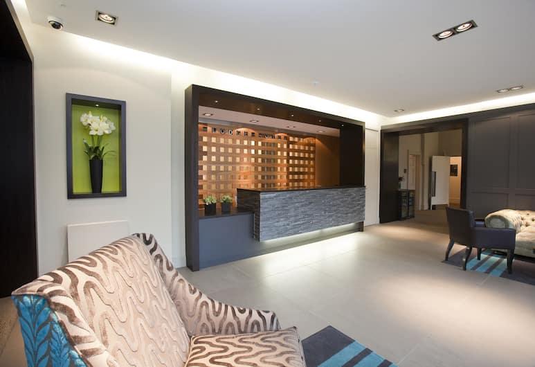 The Lodge Hotel - Putney, London, Eingangsbereich