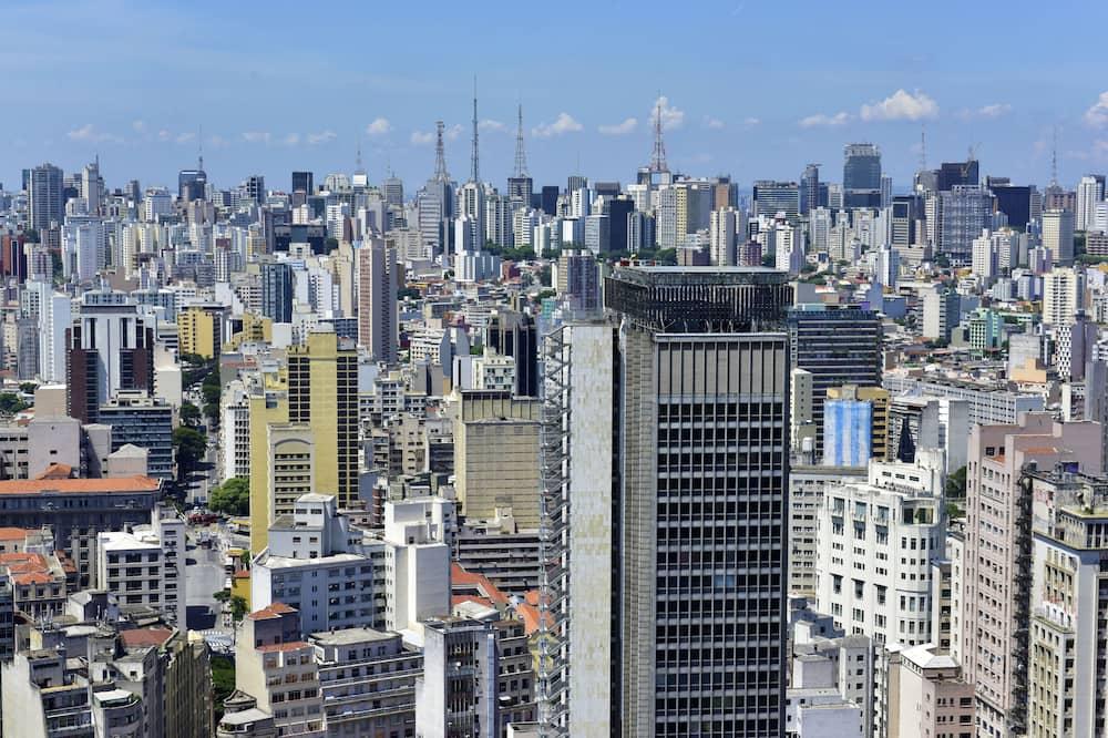 Numurs ar papildu ērtībām - Skats uz pilsētu