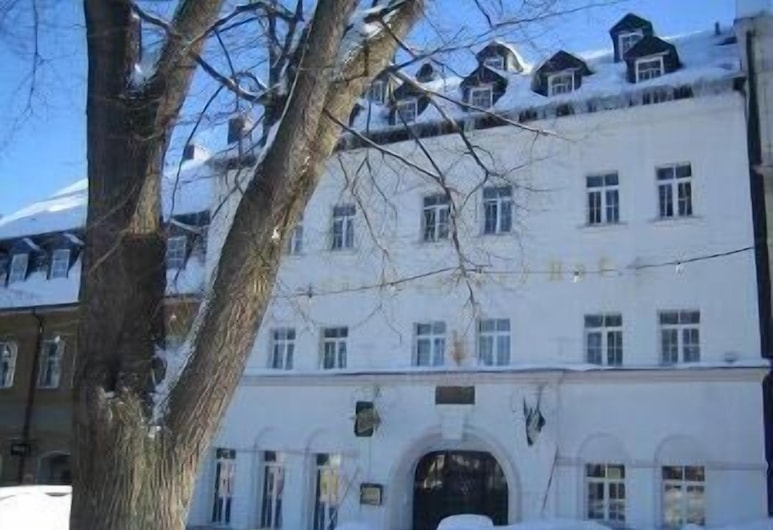 Hotel Saechsischer Hof, Scheibenberg, Průčelí hotelu