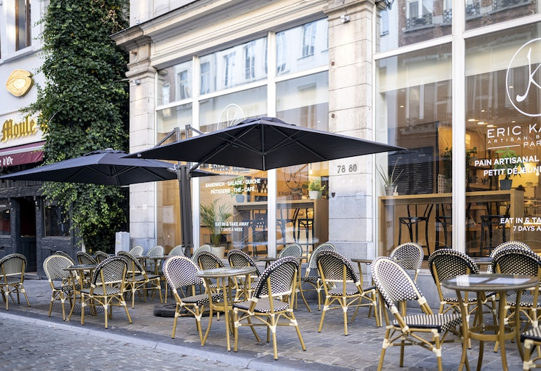 Aris Grand-Place Hotel, Brussels, Outdoor Dining
