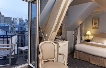 Mynd af Hôtel Ducs D'Anjou í París