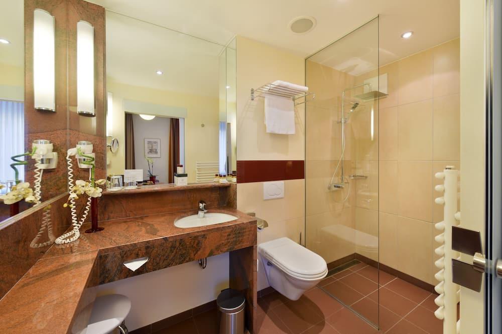 Quarto Duplo Premium, Vista para o Pátio - Casa de banho