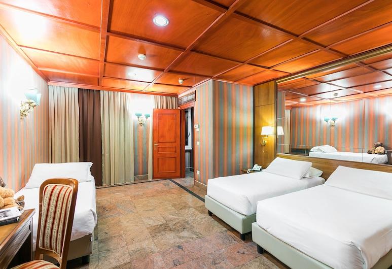 麥迪遜酒店, 羅馬, 標準四人房, 客房