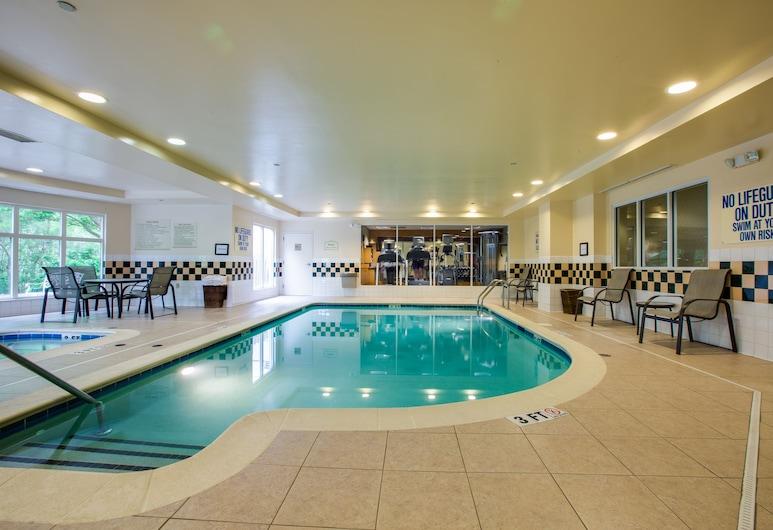 Hilton Garden Inn Charleston Airport, North Charleston, Částečně krytý bazén