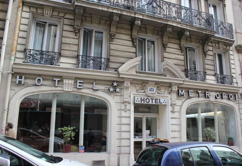 Hôtel Metropol, Paris, Hotel Front