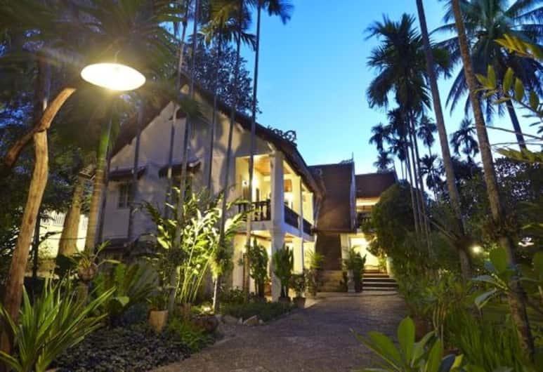 Villa Santi Hotel, Luang Prabang, Dobbeltrom – deluxe, Utsikt fra gjesterommet