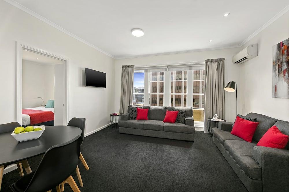 Executive-lejlighed - 2 soveværelser - Opholdsområde